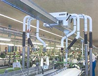 Cleaning System, Transport System & Automatic Inspection / Packing System